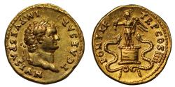 Titus, Gold Aureus, Mint of Rome