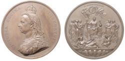 World Coins - Victoria, Golden Jubilee, 1887.