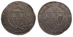 World Coins - Commonwealth Crown 1653