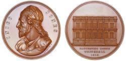 World Coins - Inigo Jones, Art Union of London, 1849.