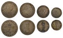 World Coins - George III 1792 Maundy Set