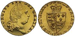 """Ancient Coins - George III 1799 Guinea, final year of the """"spade"""" Guinea"""