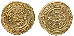 World Coins - Fatimid, Gold Dinar, AH511