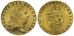 Ancient Coins - George III gold Guinea, 1796, spade type