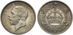 World Coins - George V 1933 Wreath Crown