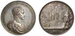 World Coins - Naval Victory against Holland, 1665.