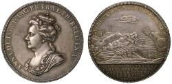 World Coins - Capitulation of Towns on the River Meuse, 1702.