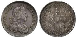 World Coins - Charles II 1671 Crown