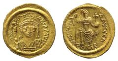 Ancient Coins - Justin II, Gold Solidus