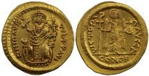 Maurice Tiberius, Gold Consular Solidus