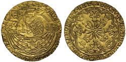 World Coins - Edward IV First Reign gold Ryal
