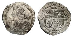 World Coins - Charles I 1644-45 Shilling Tower mint under Parliament