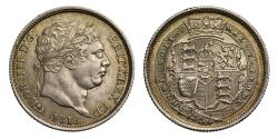World Coins - George III 1819 Shilling