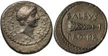 Ancient Coins - Octavian, Silver Denarius