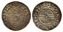 World Coins - Canute Penny Colchester, short cross type