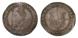 World Coins - Elizabeth I Crown mintmark 2