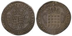 World Coins - Elizabeth I, silver Four Testerns, trade coinage for Far East