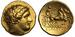 Ancient Coins - Macedon, Philip II, Gold Stater, Pella Mint