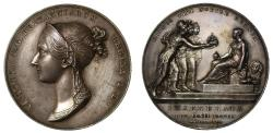 World Coins - Named Coronation medal of Victoria, 1838.
