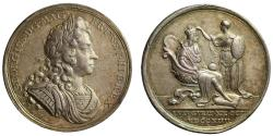 World Coins - Coronation of George I, 1714.