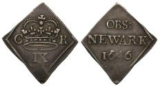 World Coins - Charles I 1646 Newark Ninepence