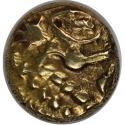 Ancient Coins - Celtic coins, BELGICA, AV-1/4 Stater 60/25 v. Chr, VF