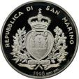 World Coins - European coins and medals, San Marino. Millennium. 5000 Lire 1998, Silver, Proof