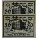 World Coins - Banknotes, Germany, Notgeld Norderney, 2 x 50 Pfennig 01.10.1922, II