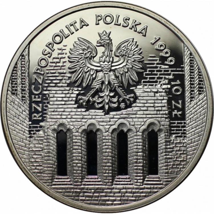 polen poland jan laski 1490 1560 10 zloty 1999 silver. Black Bedroom Furniture Sets. Home Design Ideas