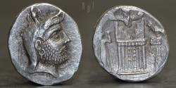 Ancient Coins - KINGS OF PERSIS Autophradates(Vadfradad)II early-mid 2nd century BC. Tetradrachm, 16.55g, 27mm, ABOUT EF R