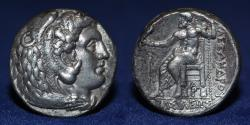 Ancient Coins - ALEXANDER III The Great AR Tetradrachm Near EF, Arados Mint, 324 -320 BCE, 17.1g, 24mm, ABOUT EF & R