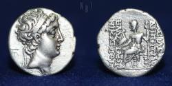 Ancient Coins - SELEUKID KINGS of SYRIA. Demetrius II. 150-140 BC. AR Drachm, 3.92gm, 17mm, RARE
