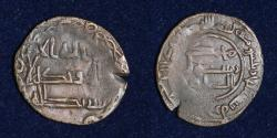 World Coins - ABBASID COPPER AE, Al Saffah Early Abbasid, Date 134h Mint Ardashir khura 1.04g, 18mm, VF & RRR