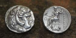 Ancient Coins - SELEUCUS I NICATOR. 312-281 BC. Silver Tetradrachm. Babylon I mint, 17.12g, 26mm, EF