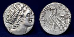 Ancient Coins - PTOLEMAIC KINGS of EGYPT Ptolemy X Alexander I & Cleopatra Berenike 101-88 BC. AR Tetradrachm Alexandreia Mint