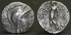 Ancient Coins - Seleukid Kingdom. Seleukos II Kallinikos 246-226 BC. Drachm AR, 3.93g, 17mm, VF & R