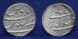 World Coins - INDIA MUGHAL Muhammad Shah (1719-48) Silver rupee, keshmir, 11.26g, 23mm, ABOUT EF