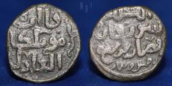 World Coins - GREAT MONGOLS: Möngke, 1251-1260, AE jital, Shafurqan, AH657, 3.84gm, 16mm, GOOD VF & RR