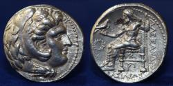 Ancient Coins - Macedonian Kingdom. Alexander III the Great Silver Tetradrachm 336-323 BC. Susa, 16.91g, ABOUT EF