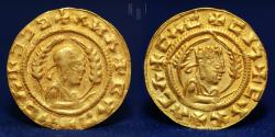 AKSUMITE COINS Anonymous (c. AD 400) Gold 1.59g, 16mm, EXTREMELY FINE & RARE