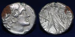Ancient Coins - PTOLEMAIC KINGS of EGYPT Ptolemy X Alexander I & Cleopatra Berenike. 101-88 BC. AR Tetradrachm