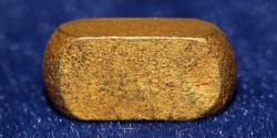 Ancient Coins - Ancient small Gold Bar (11 mm, 3.14 g)