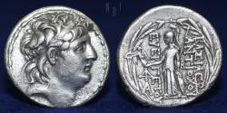 Ancient Coins - Seleukid King, Antiochos VII Euergetes Sidetes (138-129 BC) Tetradrachm, 15.90gm, EF