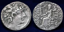 Ancient Coins - SYRIA Seleucid Kings. Philip I Philadelphos. Circa 95/4-76/5 BC. AR Tetradrachm, 14.65g, 28mm, GOOD VF
