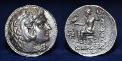 Ancient Coins - SELEUCID KINGDOM Seleucus I Nicator (312-281 BC) AR Tetradrachm, 17.12g, 28mm, ABOUT EF RR