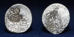 World Coins - AQ QOYUNLU AR Tanka, Muhammad (903-905h) Countermarked type (Sah) 19mm, 4.64g, ABOUT VF RR