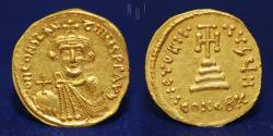 Solidus Byzantine Empire (330-1453) Gold Constans II (630-668) Constantinople mint, 4.45g, EF R