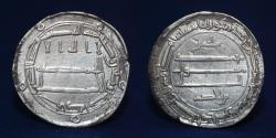 World Coins - ABBASID Caliphate. Al-Rashid. AR Dirham. Arran Mint. Dated AH 194, 2.86g, 25mm, EF & RR.