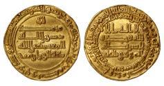 World Coins - Abbasid Dinar Al-Mutamid  Mint : 272h