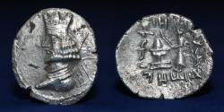 Ancient Coins - KINGS OF PERSIS Artaxerxes II (1st Century BC). Silver Hemidrachm. 3.80g, 21mm, ABOUT EF & RR